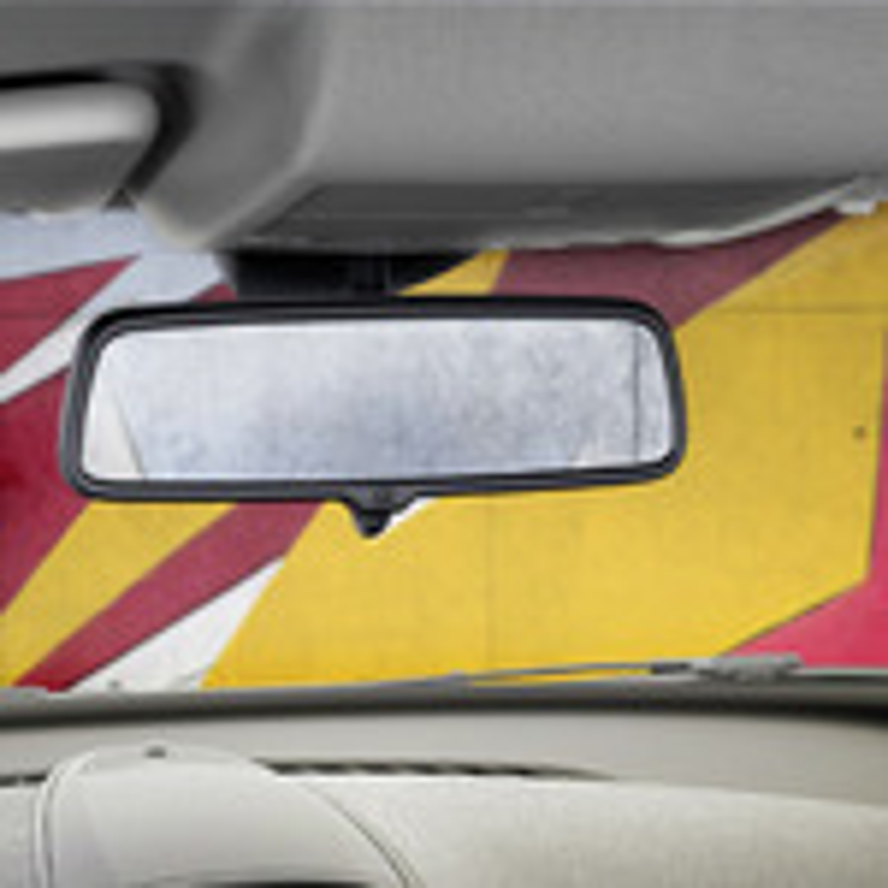 Как снимается фонарь освещения салона Opel Corsa D фото