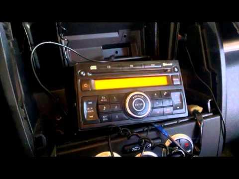 Заблокировалась штатная магнитола на Nissan Tiida
