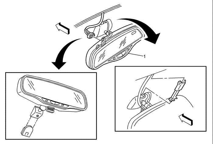 Не фиксируется боковое зеркало BMW 5 E60 с электроприводом при раскладывании