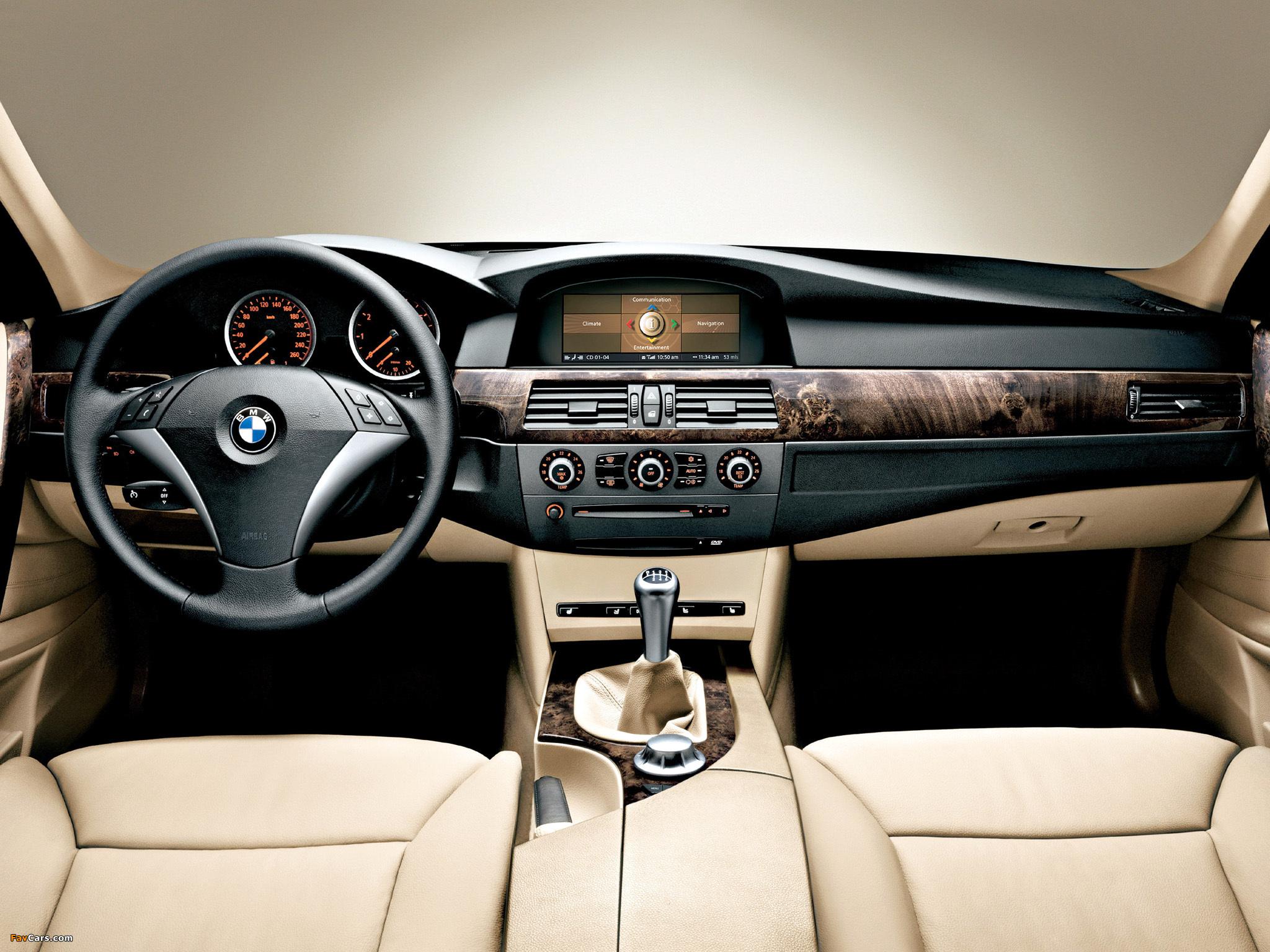 Не включается освещение салона в BMW 5 E60