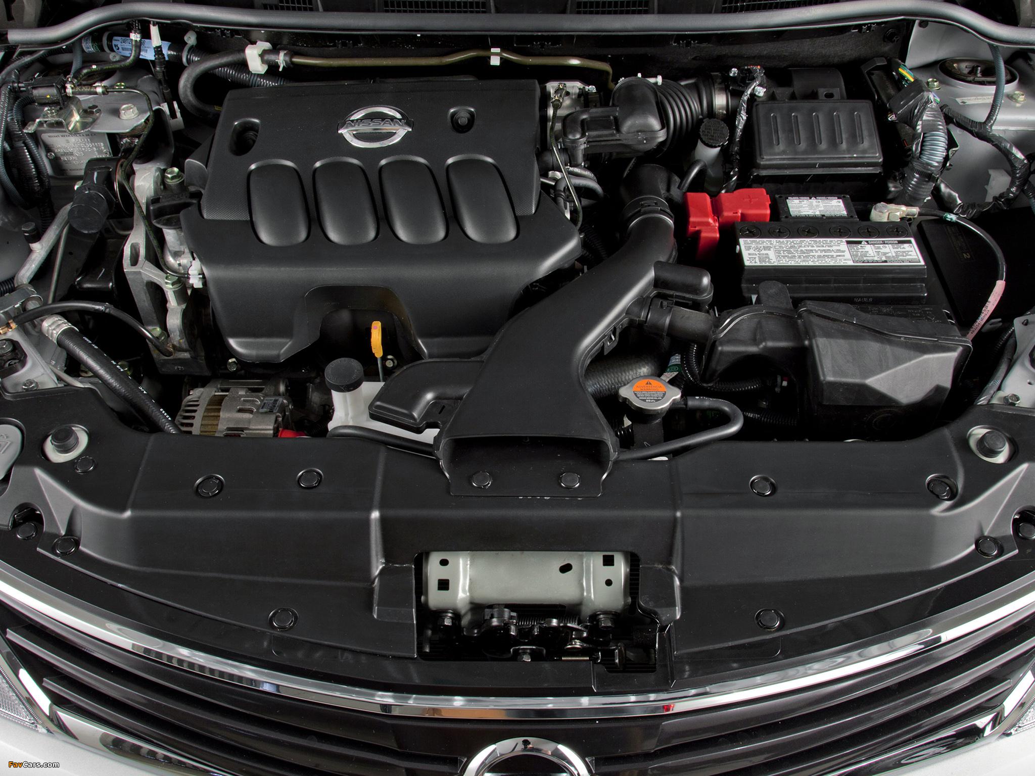 При запуске двигателя слышится булькающий звук на Nissan Tiida