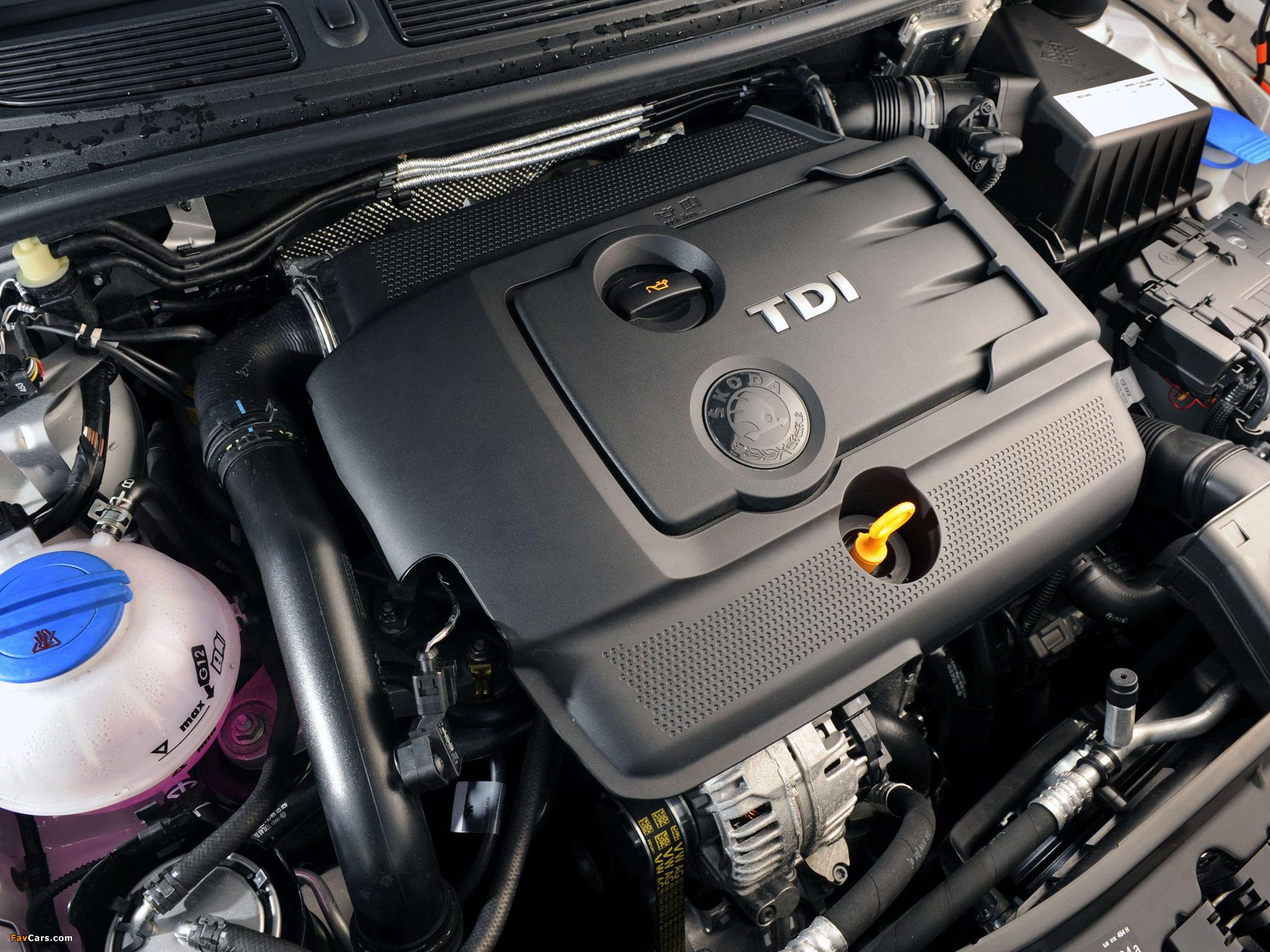 Особенности турбодизеля 1.4 TDI Skoda Fabia II