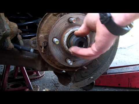 Замена передних стоек на Hyundai Santa Fe II