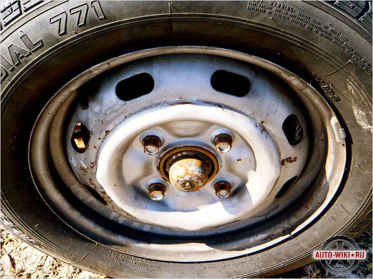 Проблемы со стилизованными штампованными дисками Renault Duster