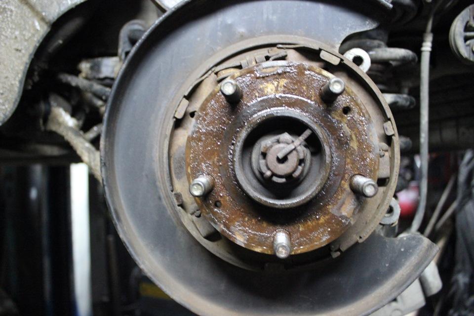 Регулировка ручника на Hyundai Santa Fe II