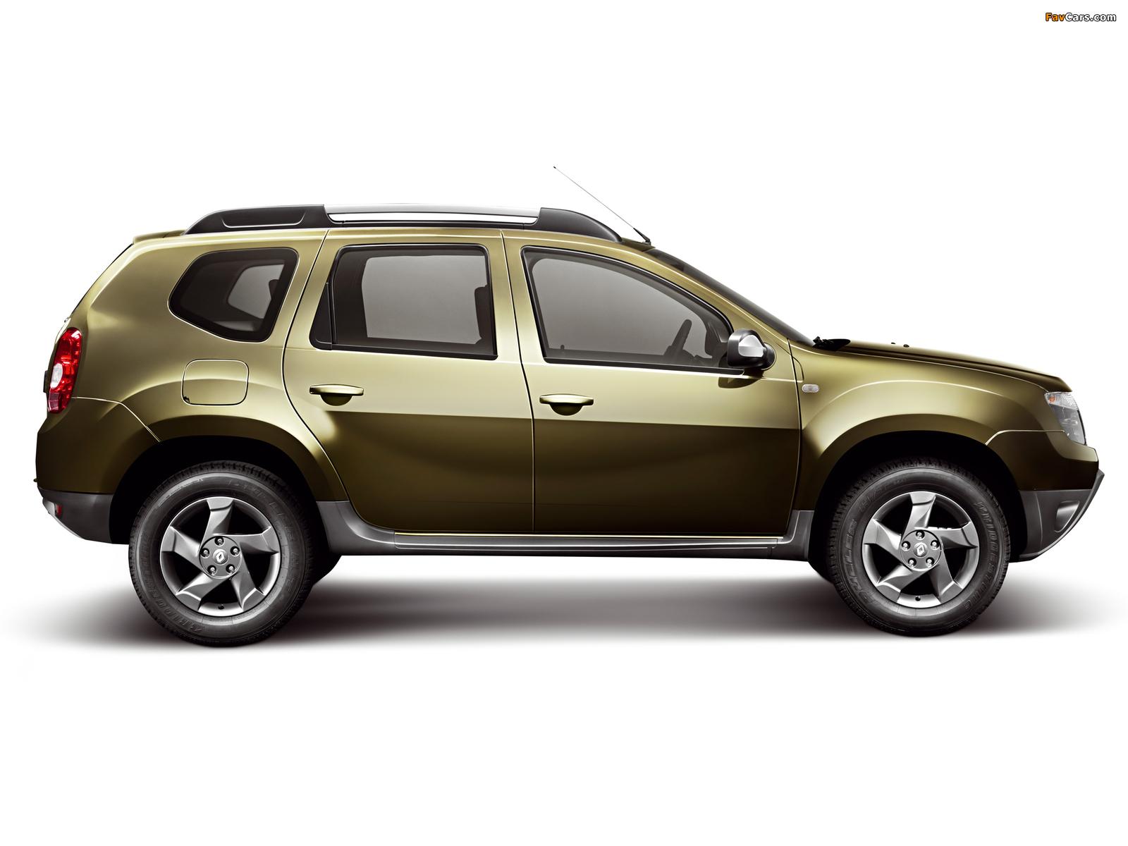 Где производится Renault Duster?