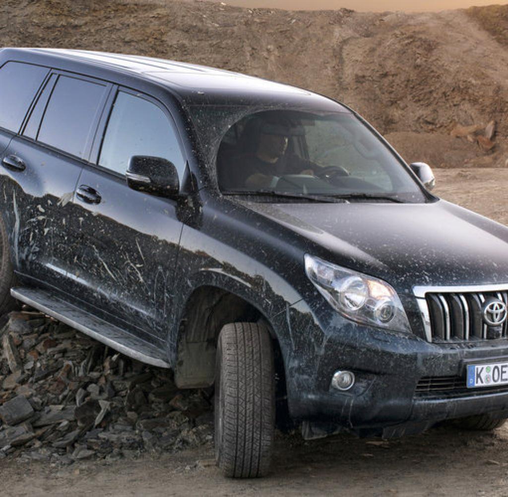 Причина скрипа в передней подвеске Toyota Land Cruiser Prado 150 фото