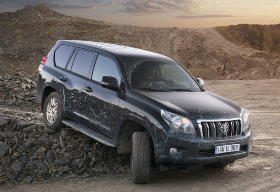 Причина скрипа в передней подвеске Toyota Land Cruiser Prado 150