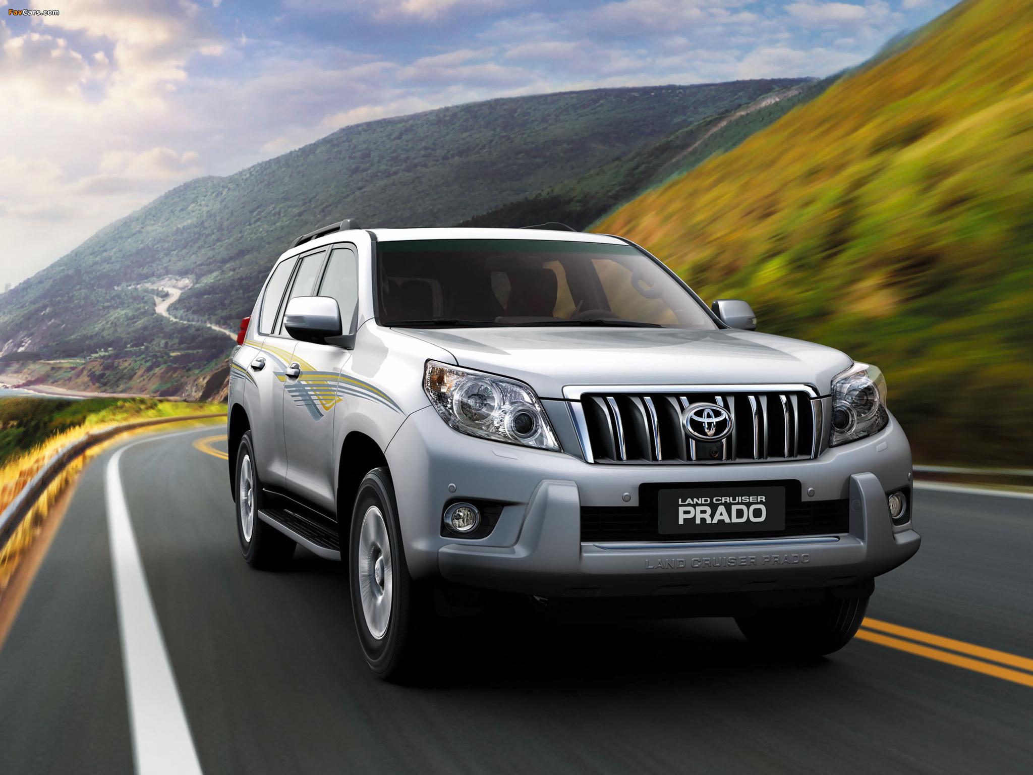 Накренился кузов Toyota Land Cruiser Prado 150