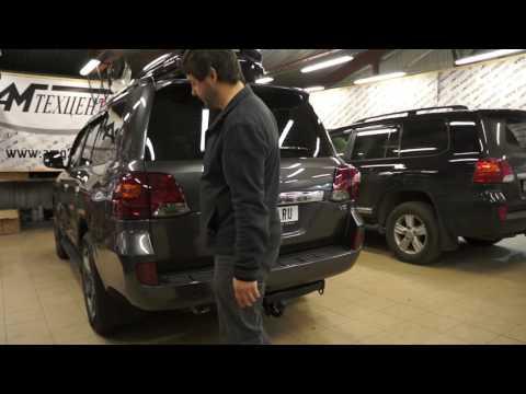 Не открывается дверь багажника на Toyota Land Cruiser 200