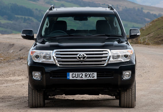 Какие лампы используются на Toyota Land Cruiser 200?