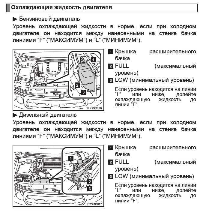 Замена охлаждающей жидкости на Toyota Land Cruiser 200 фото