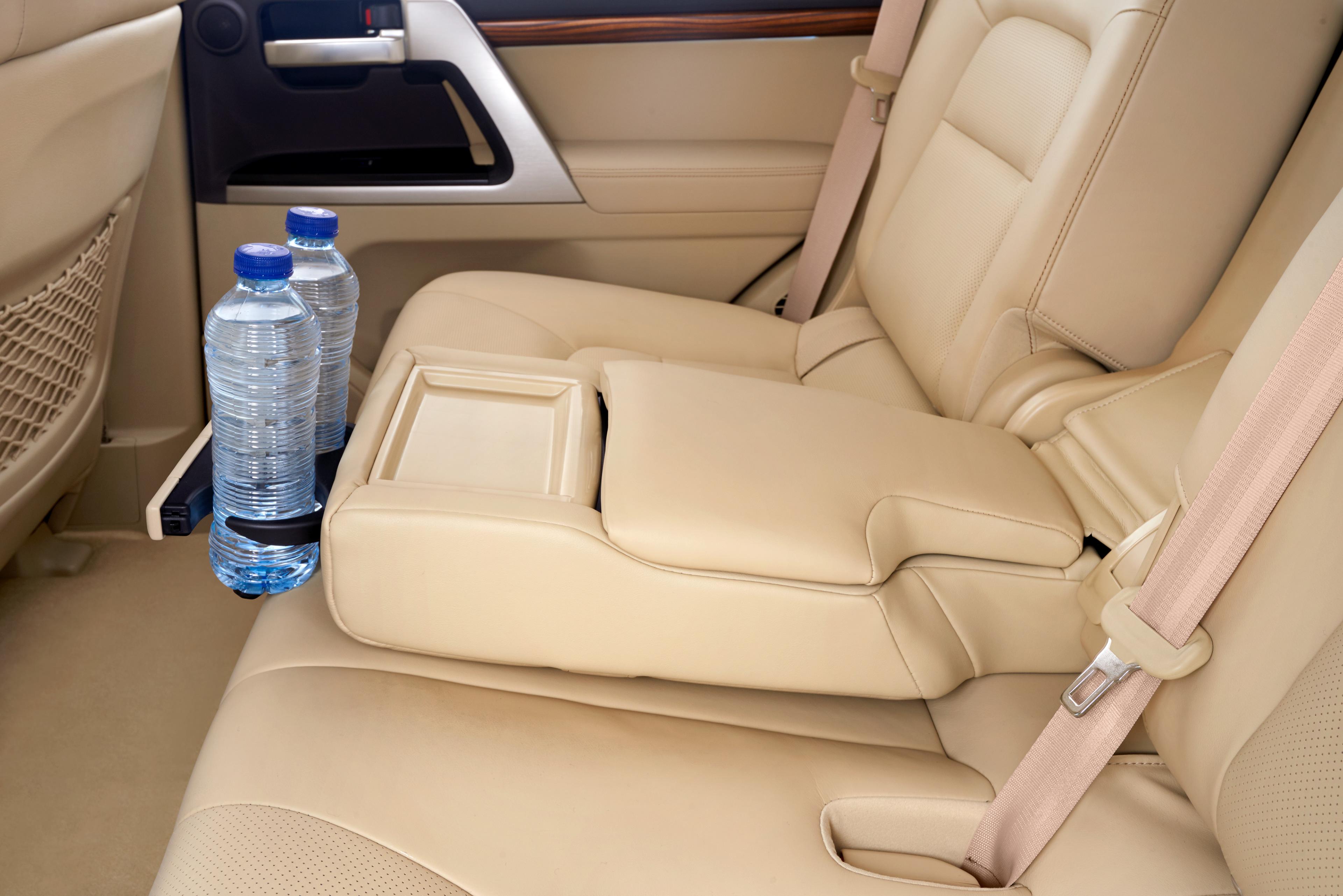 Регулировка сидений на Toyota Land Cruiser 200