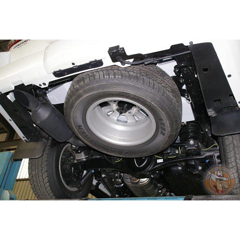 Как достать запаску на Toyota Land Cruiser 200? фото