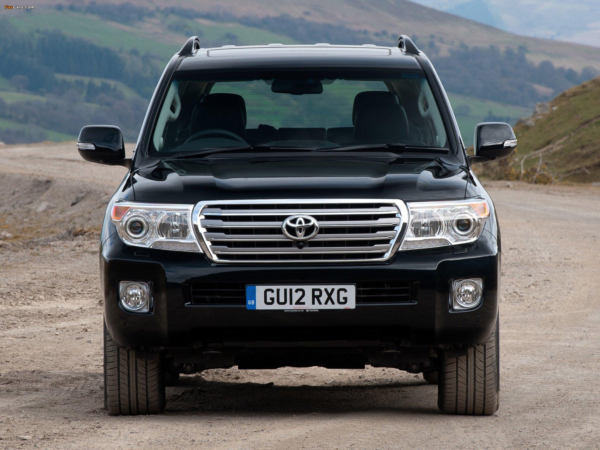 Предупреждающие сообщения на Toyota Land Cruiser 200