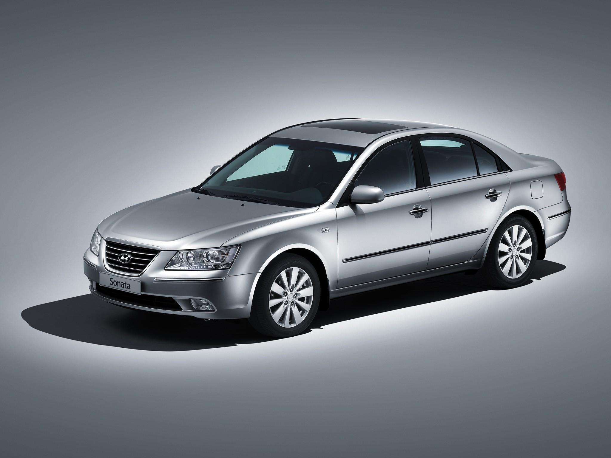 Допустимые размеры шин для Hyundai Sonata NF