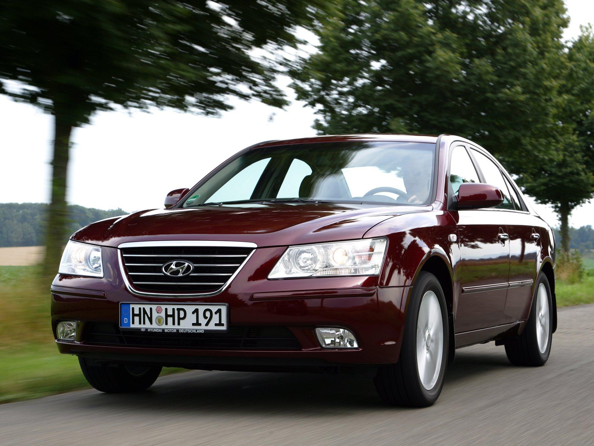 Причина запотевания фар на Hyundai Sonata NF