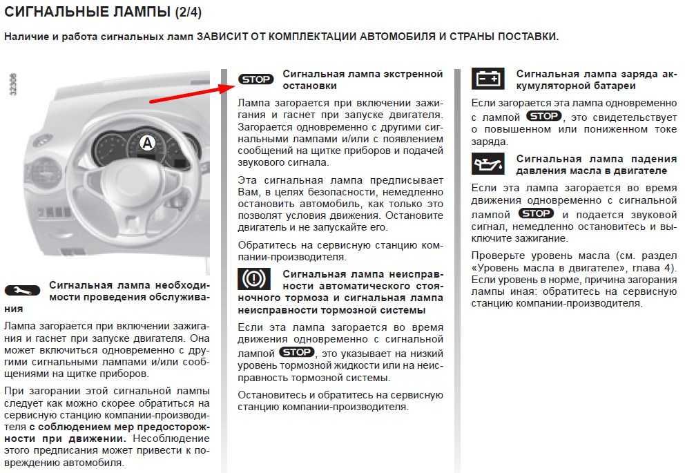 При движении в холодное время года загорается  лампочка ручного тормоза на Honda Fit
