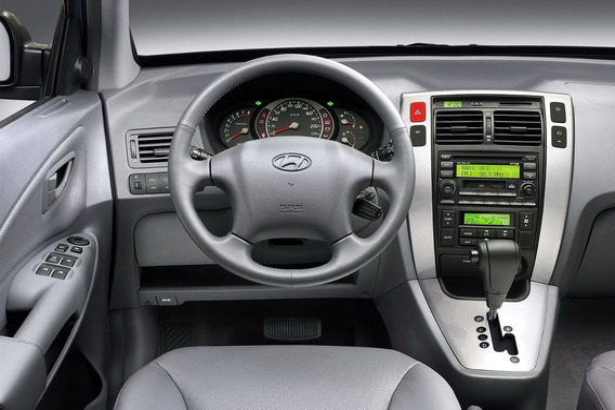 Климат-контроль в Hyundai Tucson не переключается на обдув в ноги