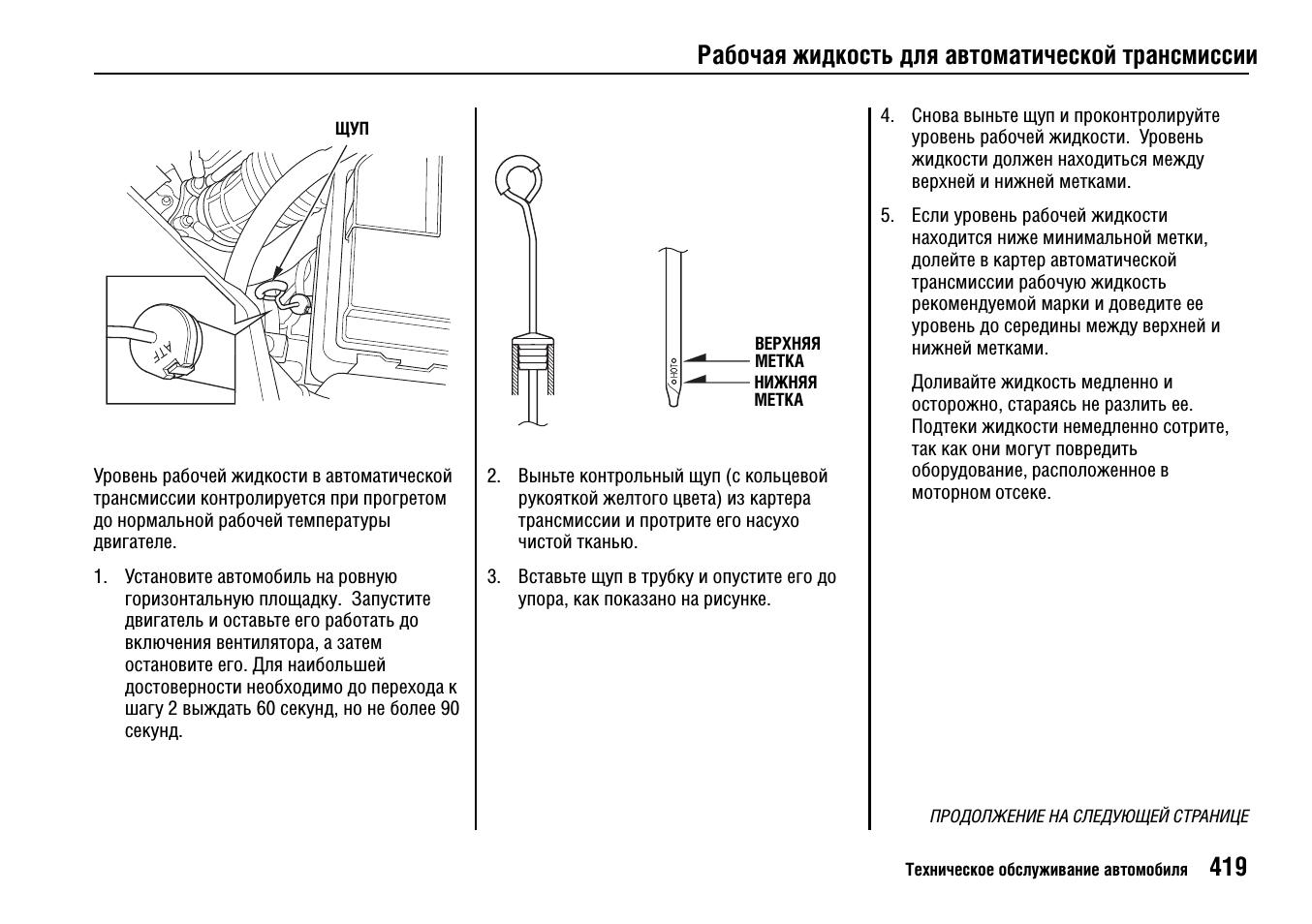 Как проверить уровень масла в МКПП Honda Accord VII?