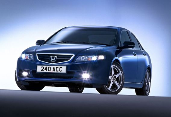 Замена ксеноновых ламп на Honda Accord VII
