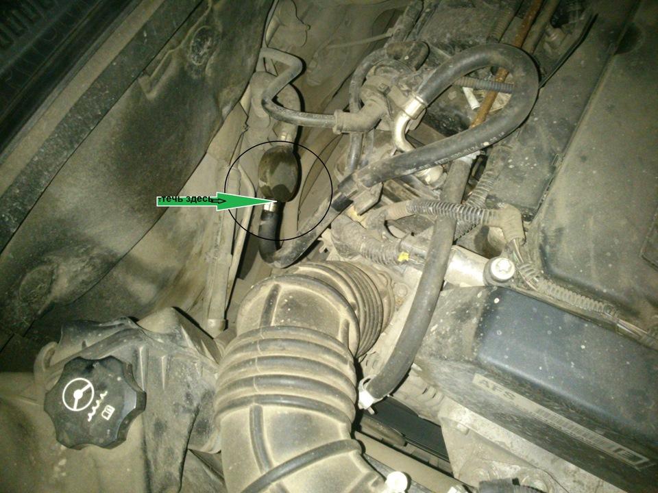 Распространенная причина появления запаха в салоне Chevrolet Niva