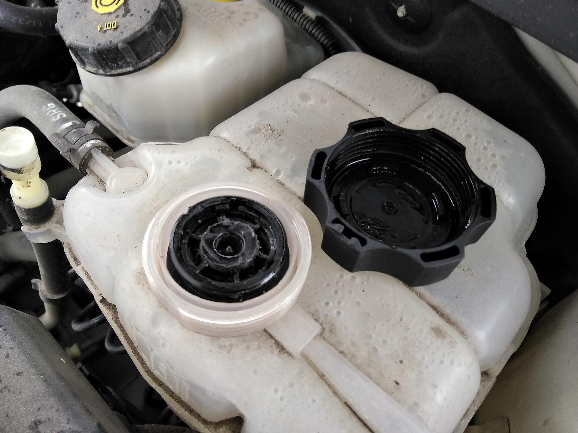 Проблема с крышкой расширительного бачка Chevrolet Niva