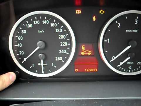 Как сбросить сервис датчика замены масла в BMW 3 E90