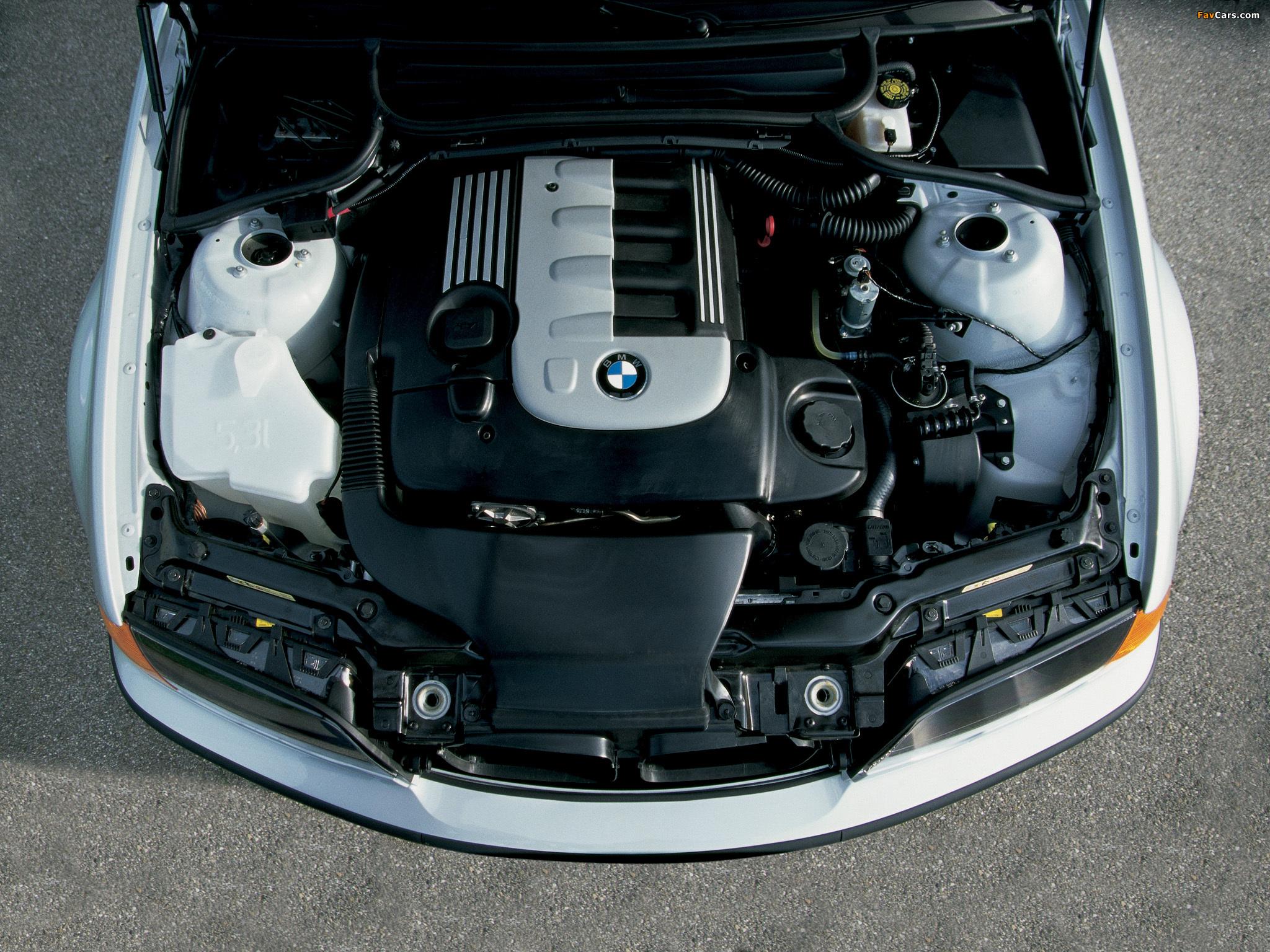 При попытках запуска двигателя BMW 3 E46 коленвал не проворачивается