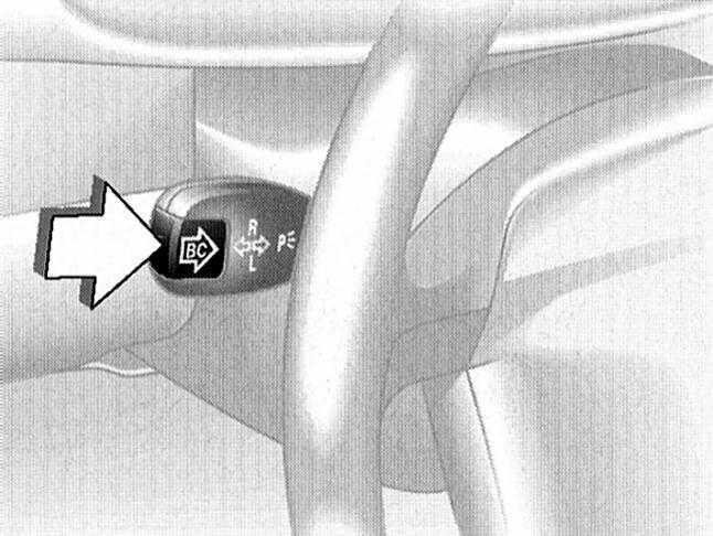 С одной стороны BMW 3 E46 постоянно и непроизвольно включаются указатели поворота