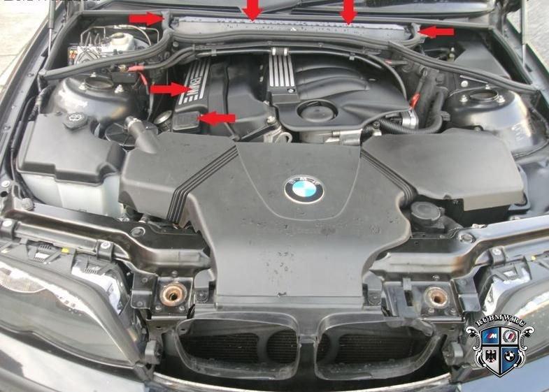 Как самостоятельно заменить в BMW 3 E46 фильтр салона