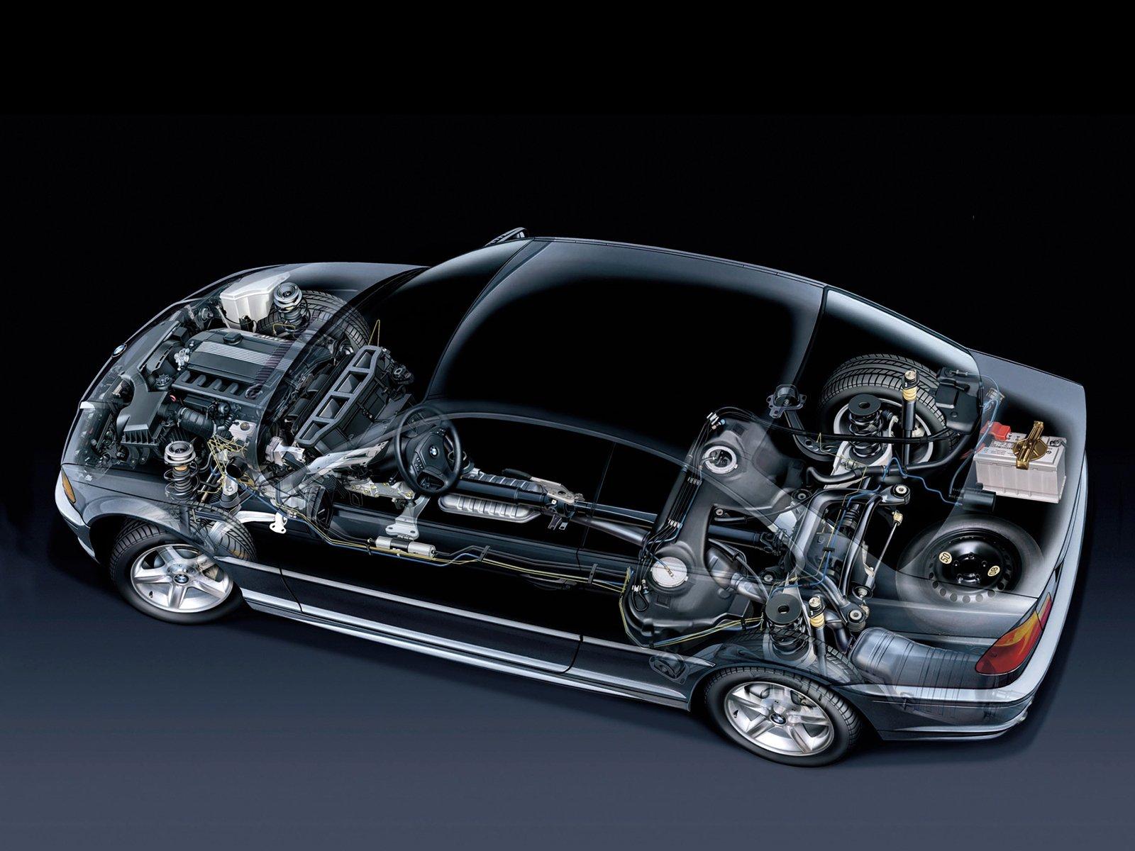 Попало масло в вакуумный усилитель тормозов BMW 3 E46