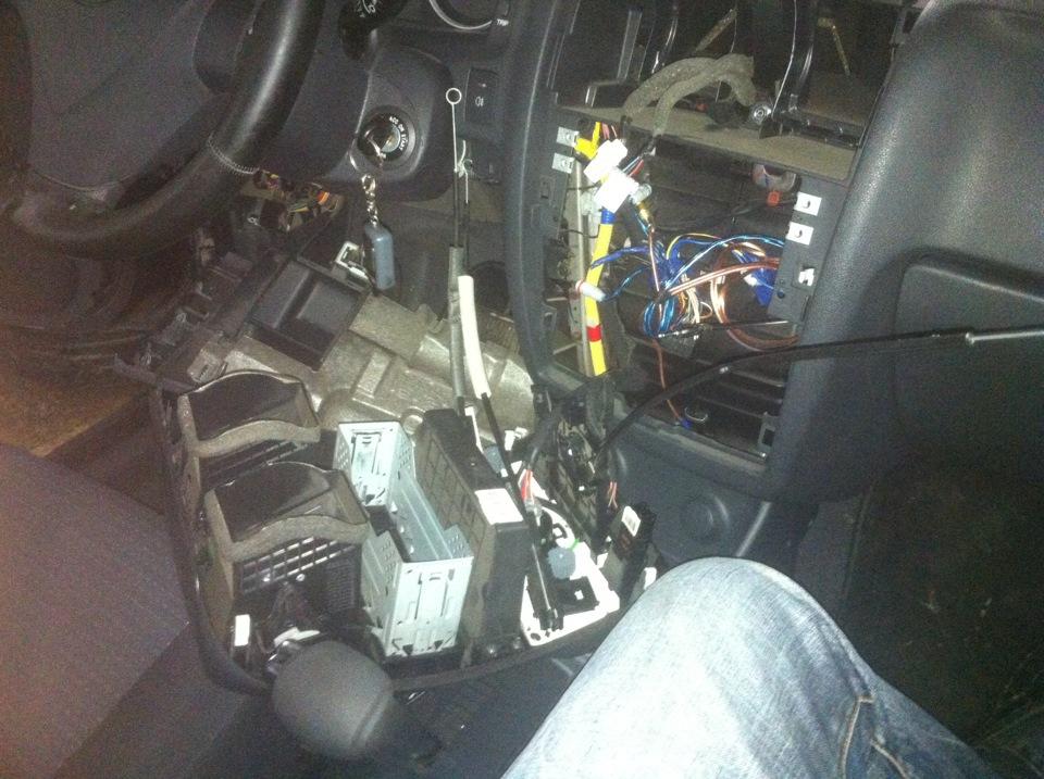 Подсветка ручки заслонки отопителя на Hyundai Getz