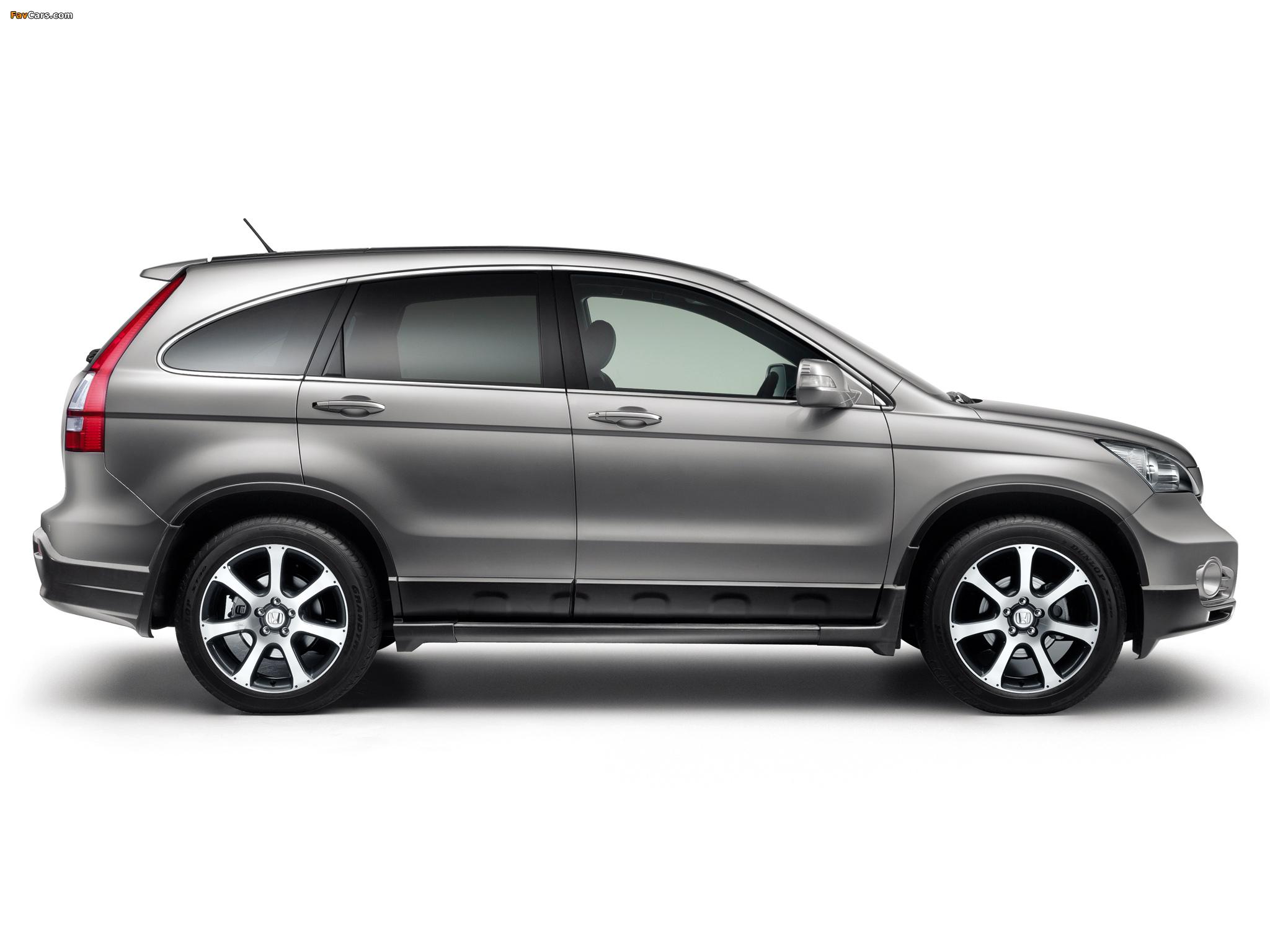 Какие шины подойдут на Honda CR-V III