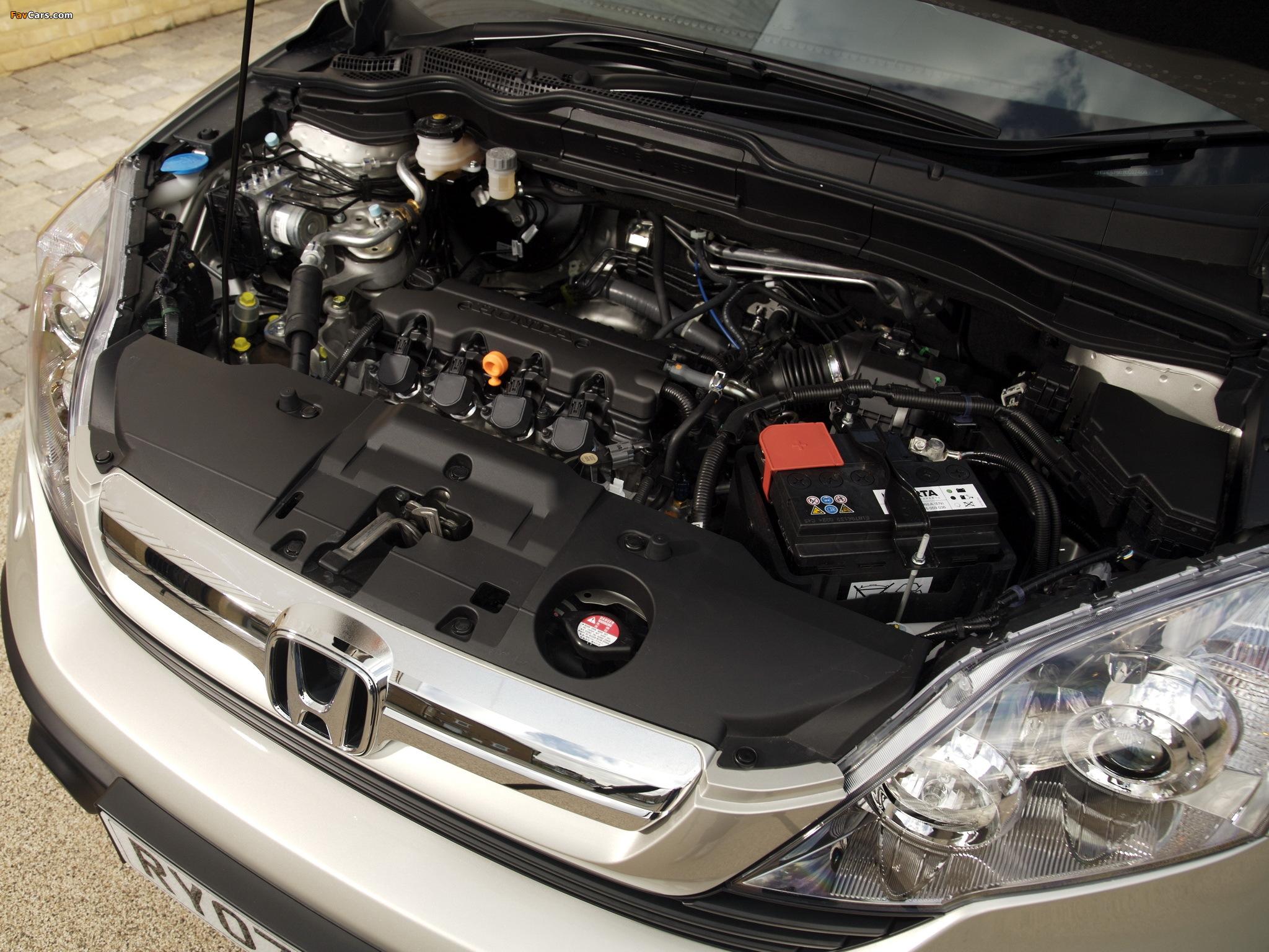 Для запуска двигателя Honda CR-V III в мороз не хватает мощности аккумулятора