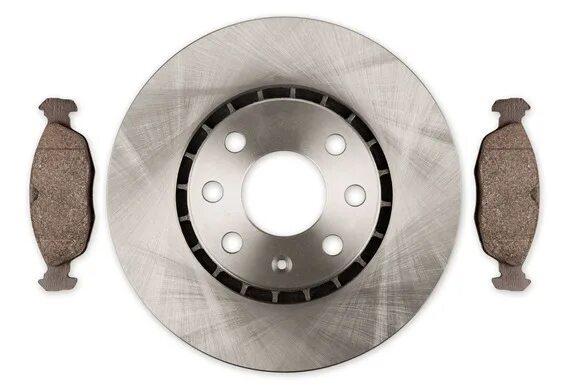 Ресурс оригинальных колодок и тормозных дисков для Honda CR-V III