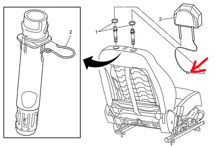 Люфт спинки переднего сиденья Chevrolet Aveo 2