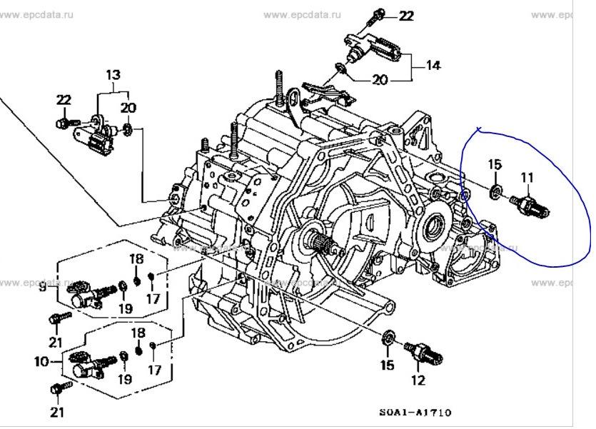 Падают холостые обороты на Honda CR-V III при переключении коробки в режим «P»