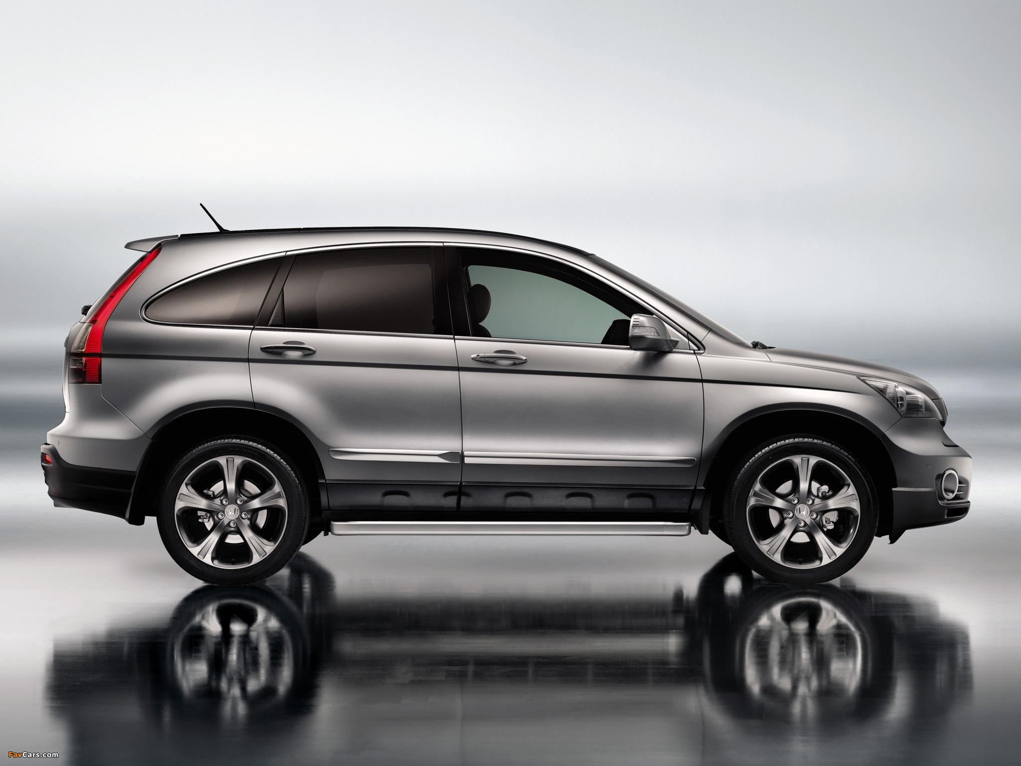 Как на Honda CR-V III сбросить предупреждение о падении давления в шинах