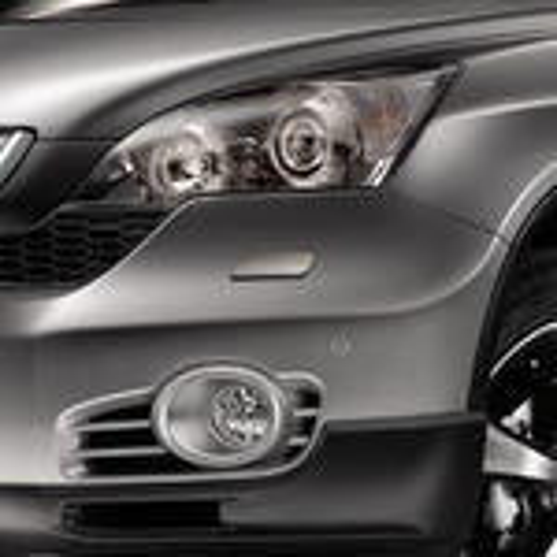 Замена противотуманных фар на Honda CR-V III: оригинал или неоригинал фото