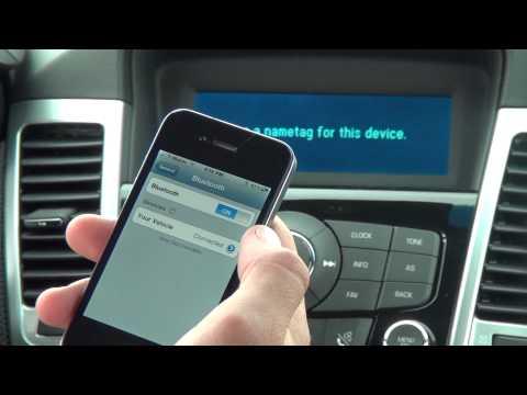 Подключение телефона через bluetooth на Chevrolet Cobalt