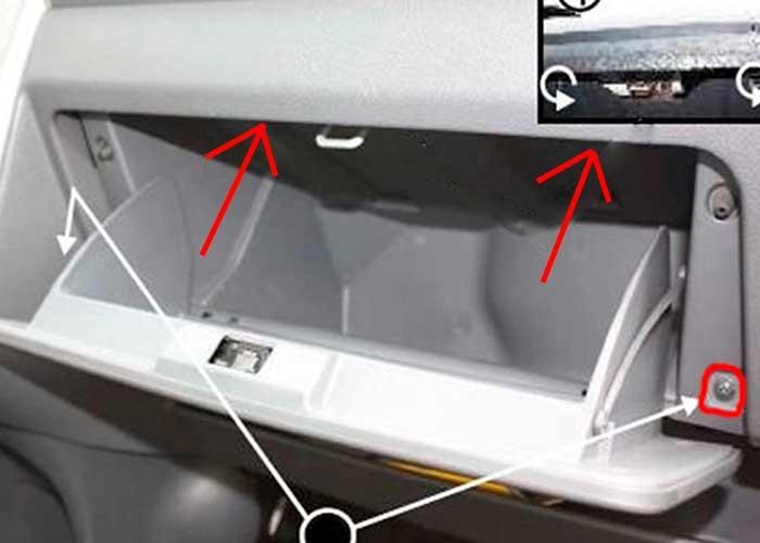 Где в Peugeot 207 установлен салонный фильтр и как его поменять