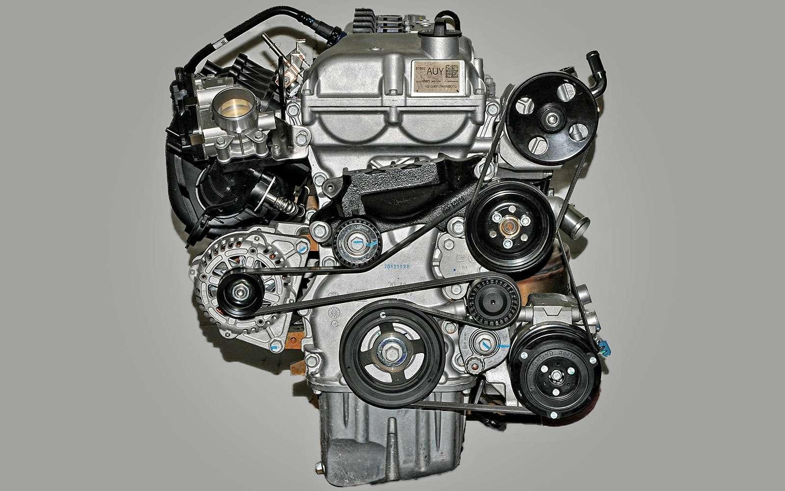 Замена ремня вспомогательных агрегатов на Chevrolet Cobalt