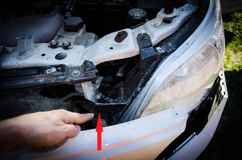 Как снять передний бампер на Chevrolet Cobalt
