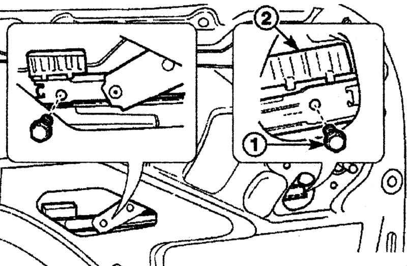 Снятие и установка указателей поворота в переднем бампере Daewoo Matiz