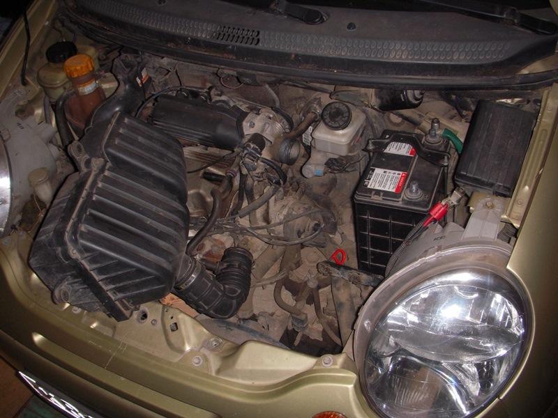 Замена масла в механической коробке передач Daewoo Matiz