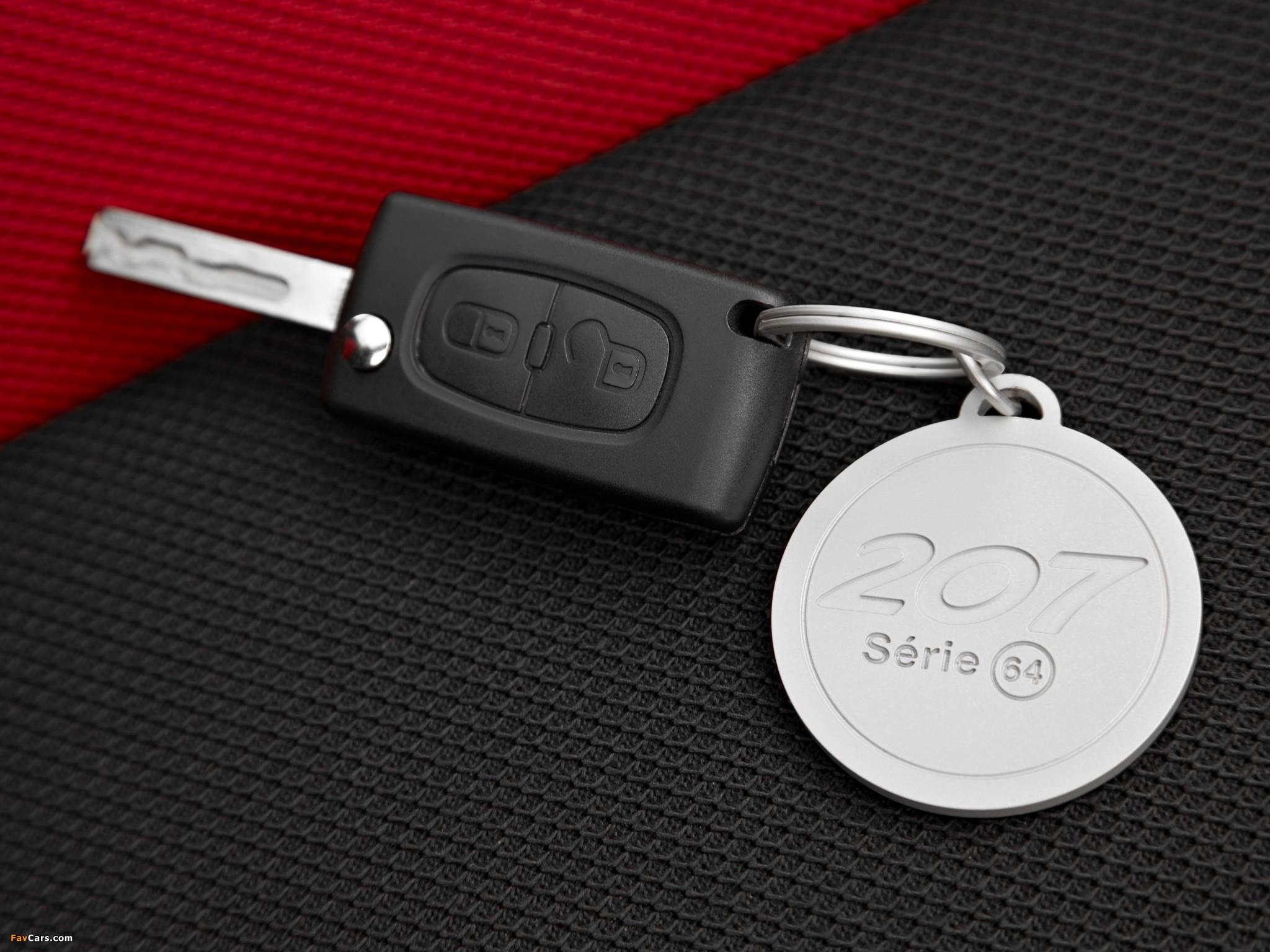 Можно ли заказать дубликат ключа от Peugeot 207 у официального дилера