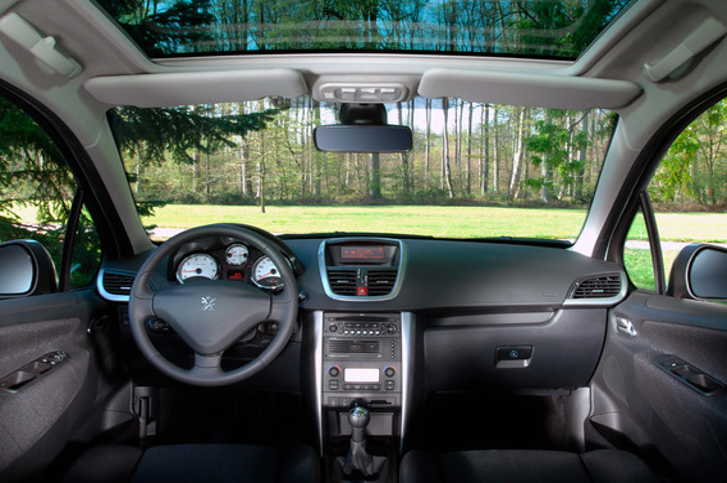 "На дисплее Peugeot 207 появилось ""Oil"" и два прочерка"
