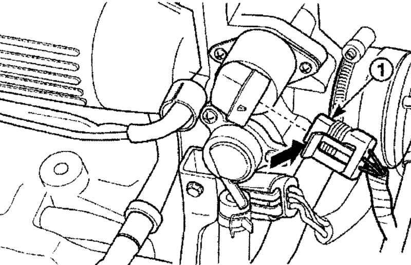 Демонтаж катушки зажигания на Daewoo Matiz