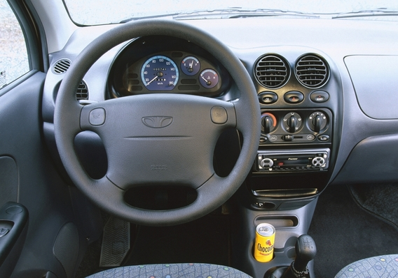 Замена звукового сигнала на Daewoo Matiz